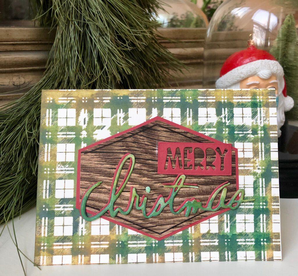 Weihnachtskarte 2020 Rustic Wilderness