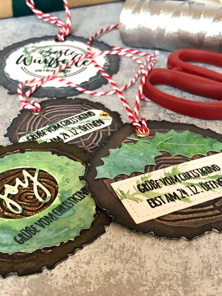 Weihnachten Geschenkanhänger rustikal
