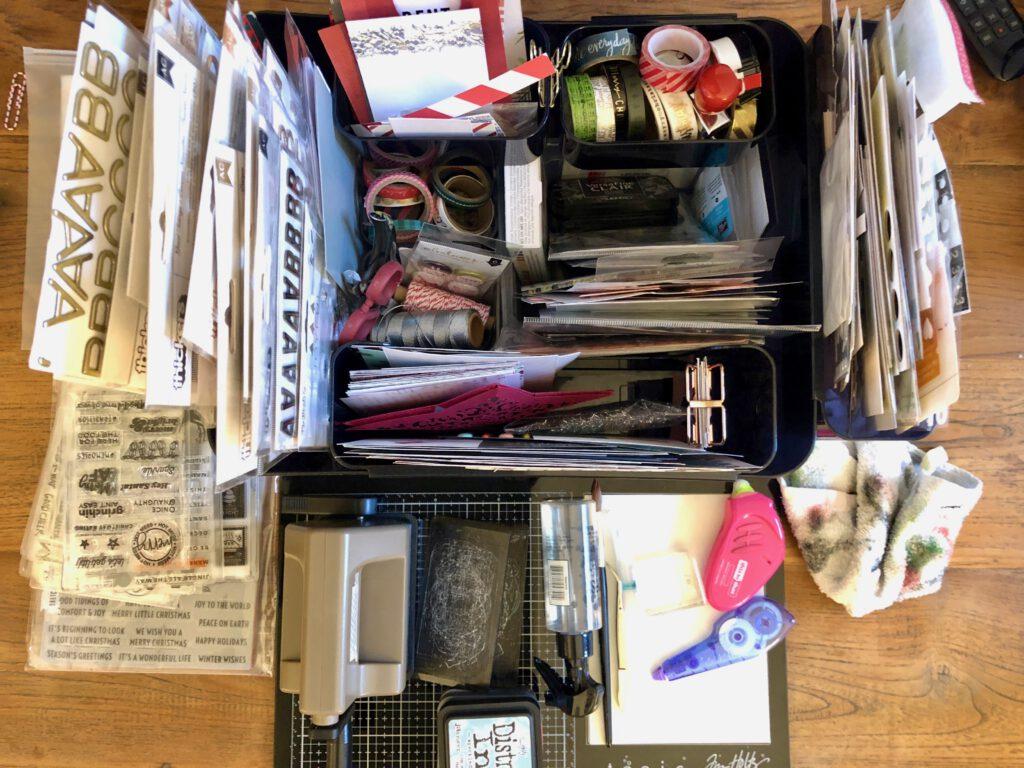 Setup Dezembertagebuch Werkzeug und Zubehör
