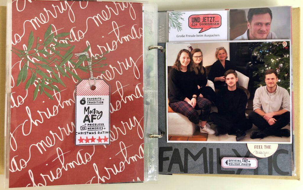 Dezembertagebuch 2020 Familienfotos