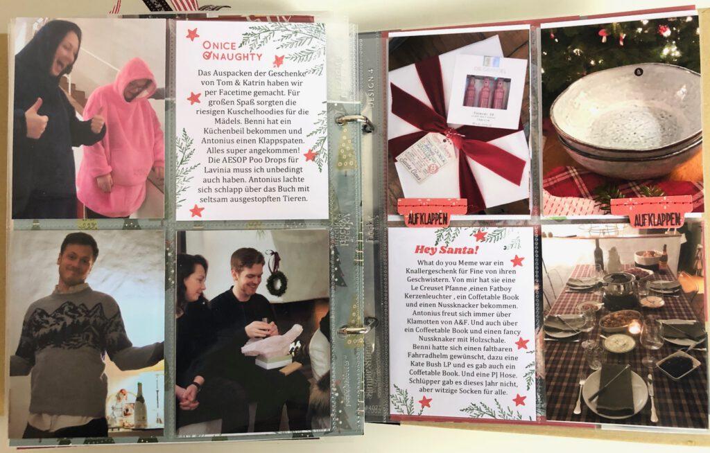 Dezembertagebuch 2020 Geschenke