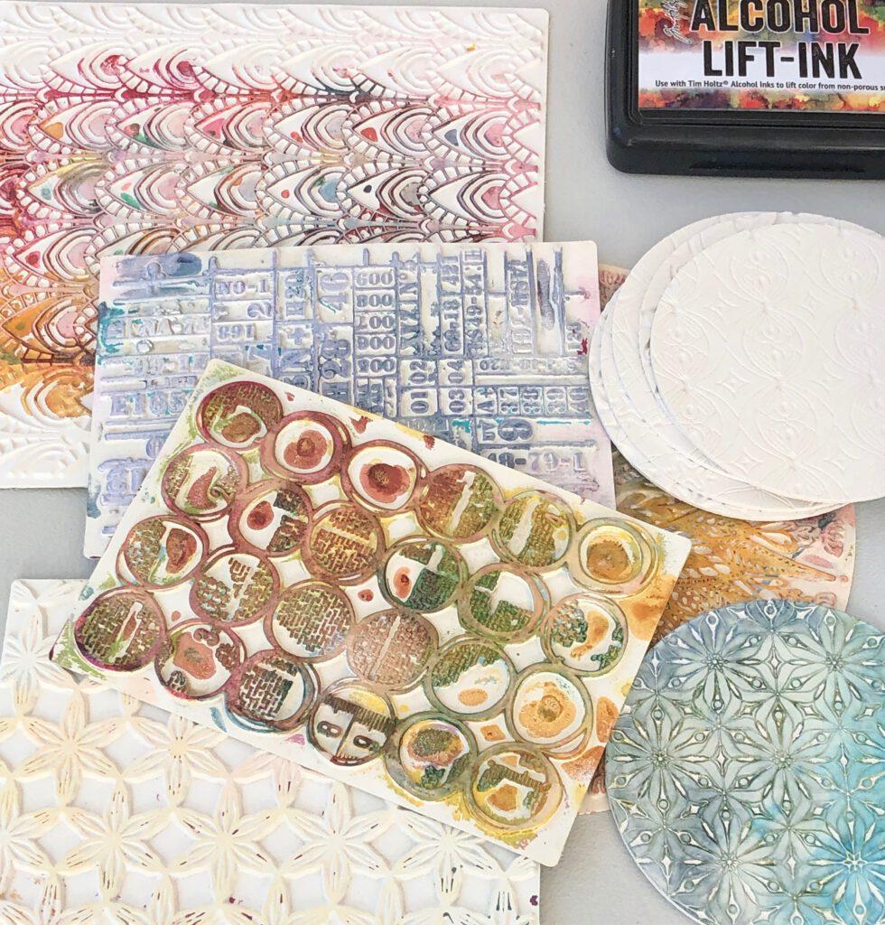 Art Printing Plates für Gelpress Druck