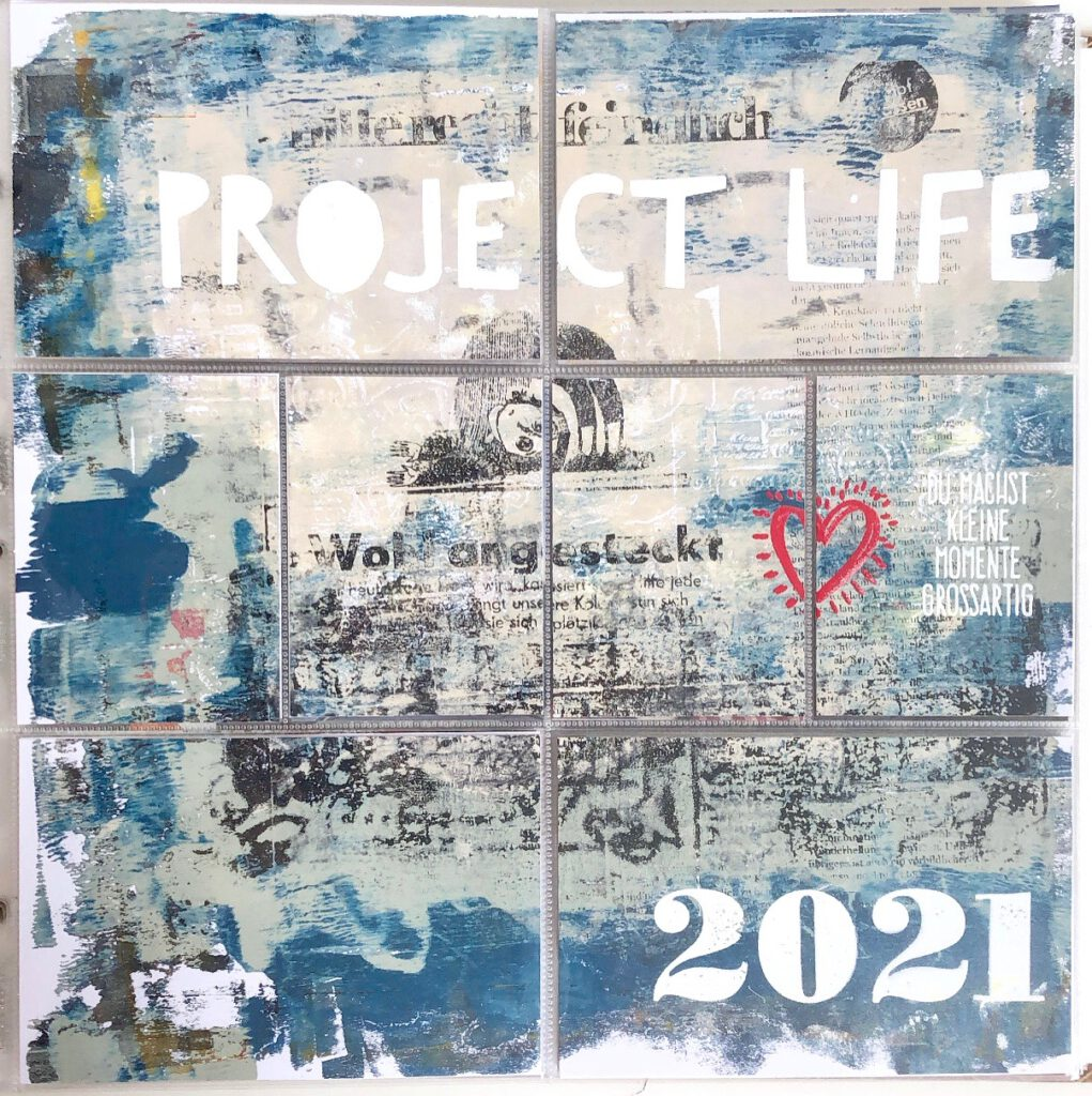 Project Life 2021 Mixed Media Introseite