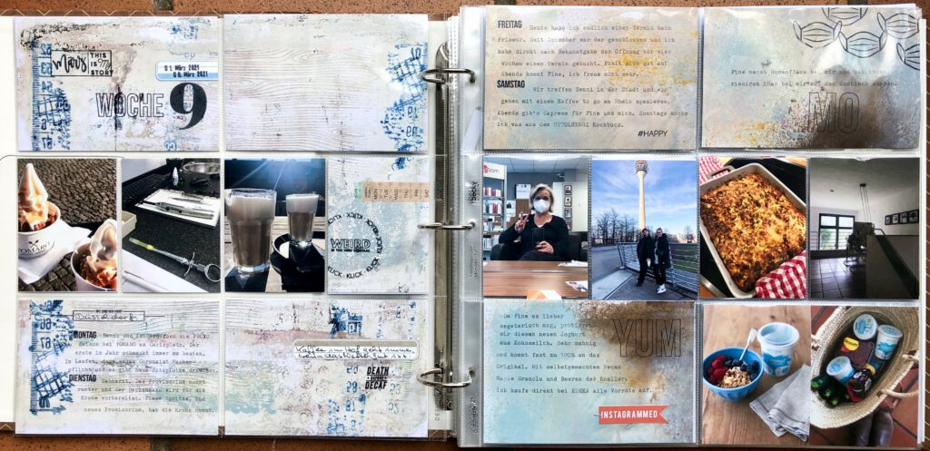 Project Life 2021 Woche 9