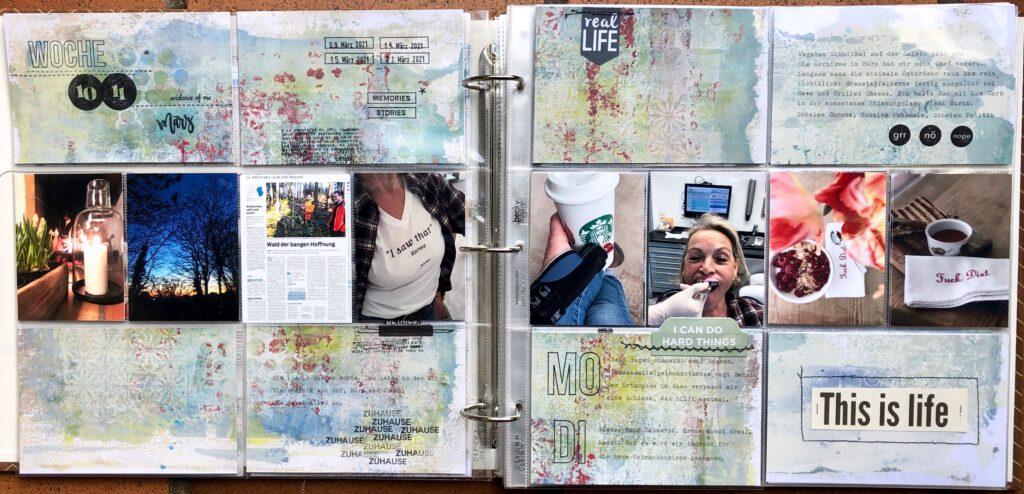 Project Life 2021 Woche 10 und 11