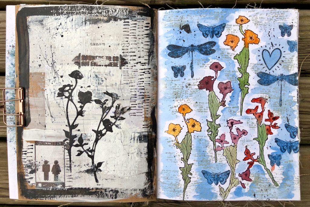 Art Journal Aquarell