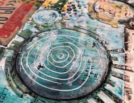 Art Journal Golden Acrylics