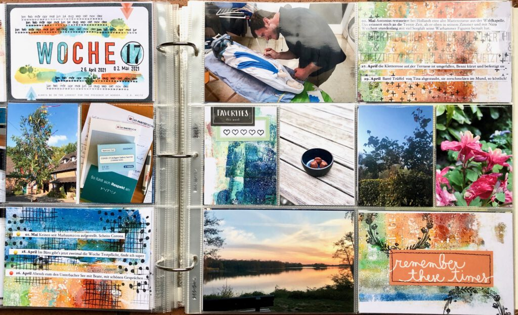 Project Life 2021 Woche 17
