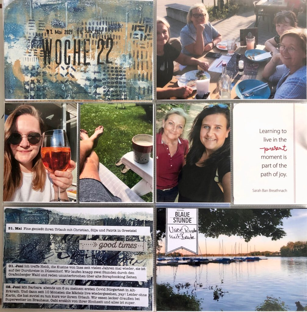Project Life 2021 Woche 22