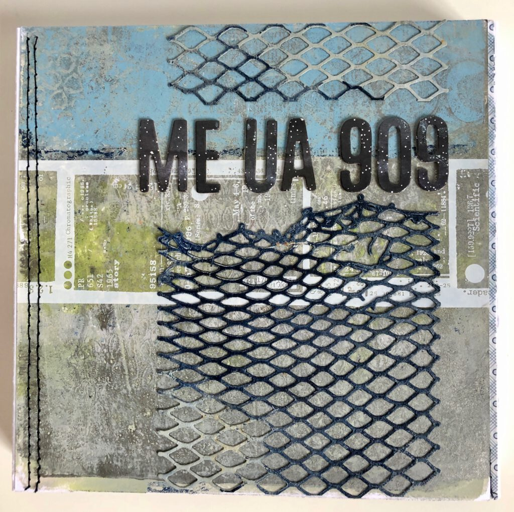 Mixed Media Album 6x6