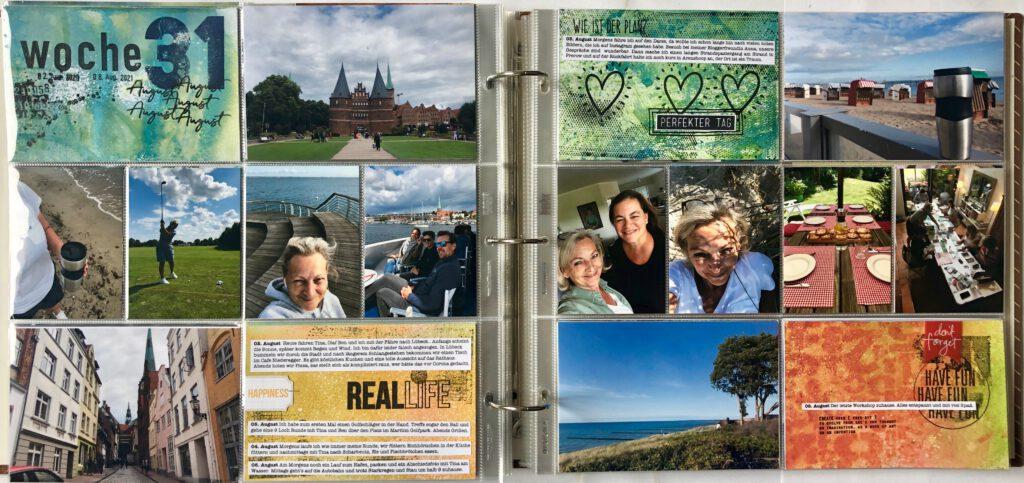 Mixed Media Project Life 2021 Woche 31