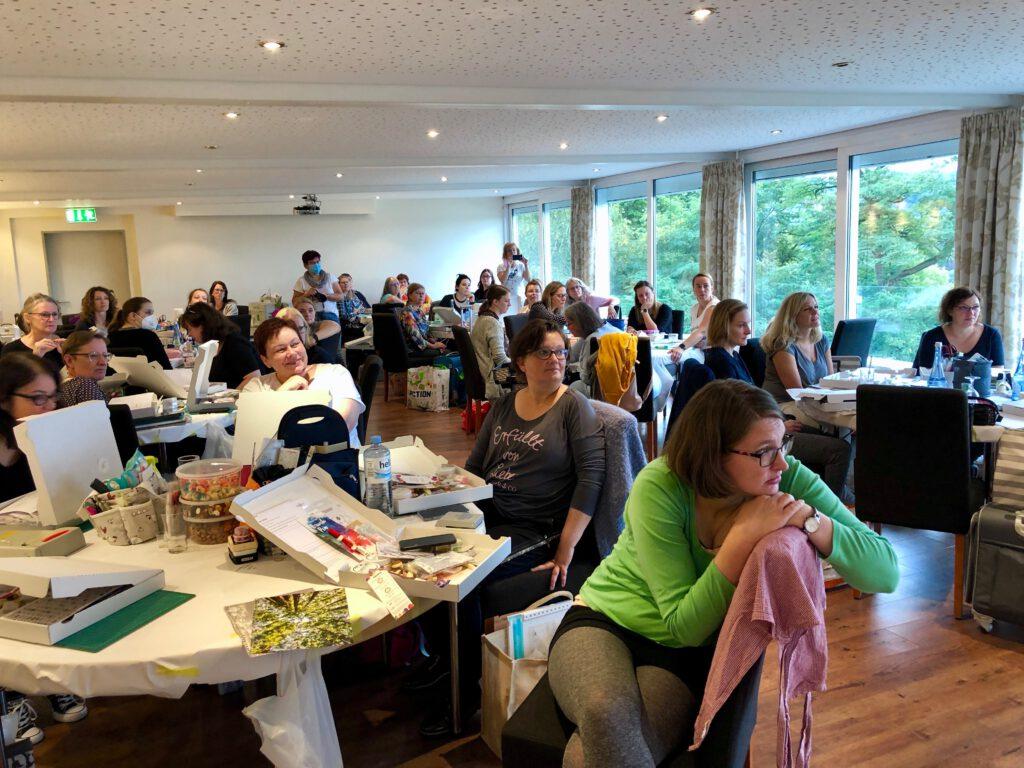 Crop Am Rhein 2021 Scrapbooking Workshop Wintergarten