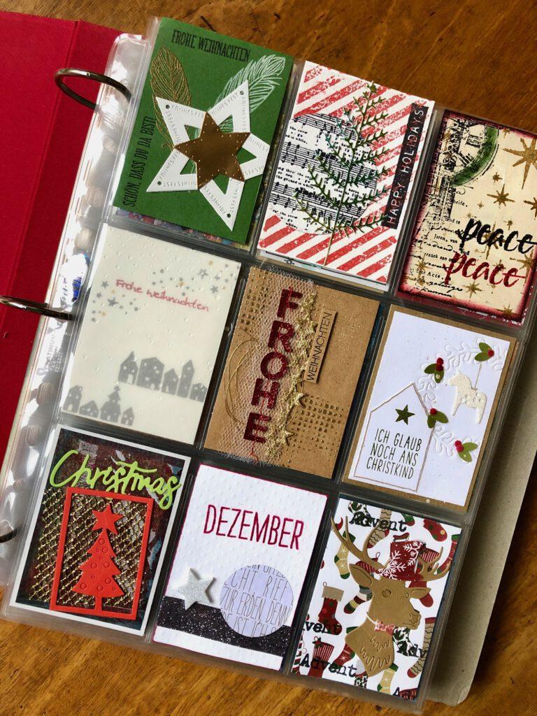 Artist Trading Cards Adventskalender